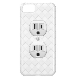 Electrical Plug Wall Outlet Fun Customize This iPhone 5C Case