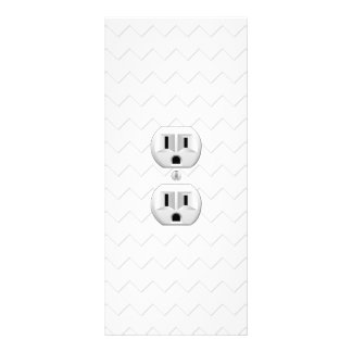 Electrical Plug Wall Outlet Fun Customize This Custom Rack Cards