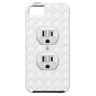 Electrical Plug Wall Outlet Fun Customize This iPhone 5 Case