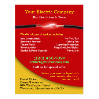 Electrical Postcard