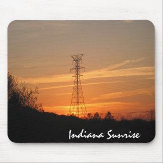 electricalsunrise, Indiana Sunrise Mouse Pad