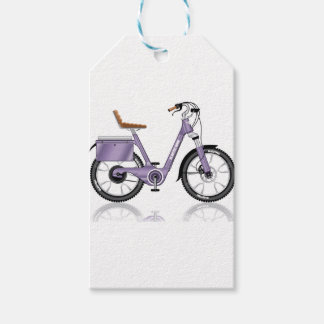 ElectricBicycleVectorDetailed Gift Tags