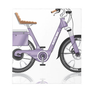 ElectricBicycleVectorDetailed Notepad