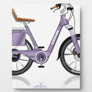 ElectricBicycleVectorDetailed Plaque