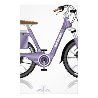 ElectricBicycleVectorDetailed Stationery