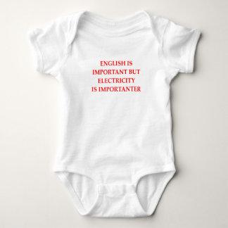 ELECTRICIAN BABY BODYSUIT