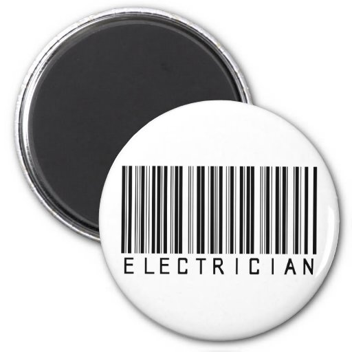 Electrician Bar Code Magnets