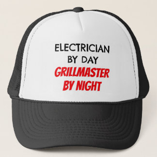 Electrician by Day Grillmaster by Night Cap