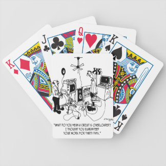 Electrician Cartoon 4427 Bicycle Playing Cards