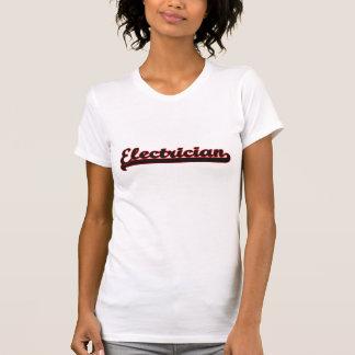 Electrician Classic Job Design Tshirts