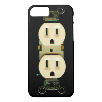 Electrician contractor electrical engineer power iPhone 7 case