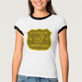 Electrician Drinking League T-shirts