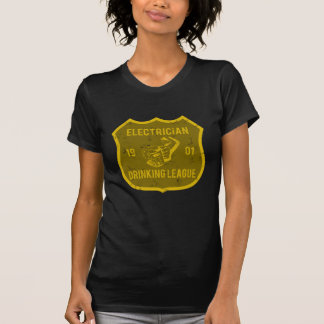 Electrician Drinking League T Shirts