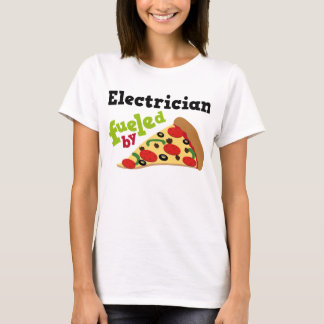 Electrician (Funny) Pizza T-Shirt