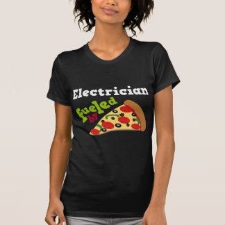 Electrician (Funny) Pizza Tee Shirt