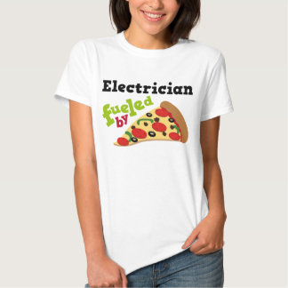 Electrician (Funny) Pizza Tshirt