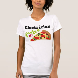 Electrician (Funny) Pizza T Shirts