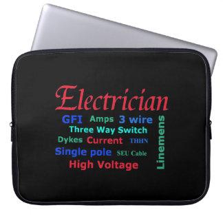 Electrician Laptop Computer Sleeve