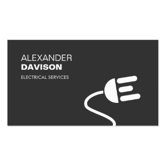 ELECTRICIAN LOGO MODERN BUSINESS CARD I