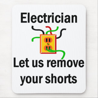 Electrician Mouse Pad