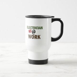 Electrician NOT At Work Travel Mug