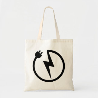 Electrician wire tote bag