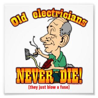 Electricians Photo Print