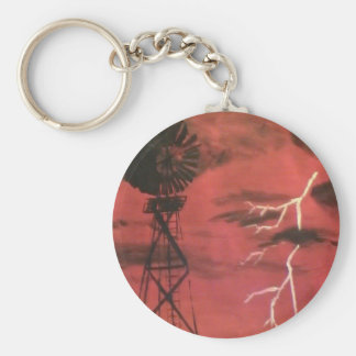 Electricity Key Ring