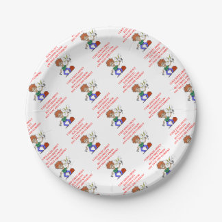 ELECTRICITY PAPER PLATE