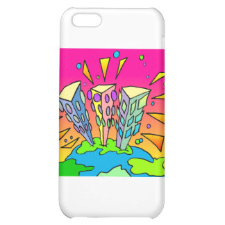 Electricityscape - Pescoran Pop Buildings Cover For iPhone 5C