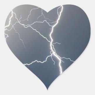 Electrifying!! Heart Sticker