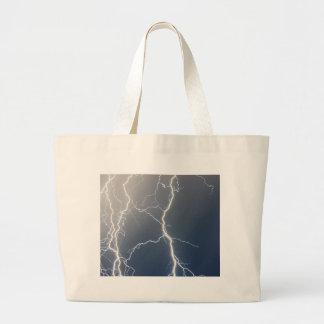 Electrifying!! Large Tote Bag