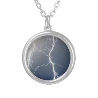 Electrifying!! Silver Plated Necklace