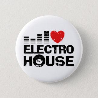 Electro House 6 Cm Round Badge