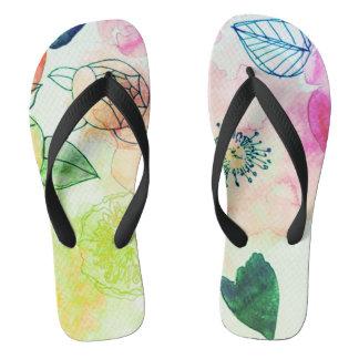 electro spring unisex flip flops thongs