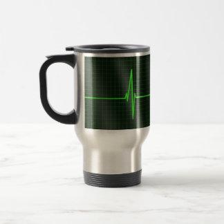 Electrocardiogram Waves Travel Mug Mugs