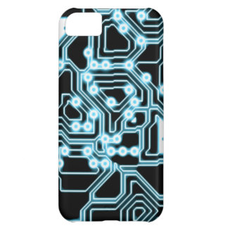 ElecTRON - Blue Black Case For iPhone 5C