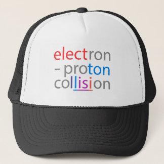 electron-proton trucker hat