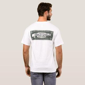 Electroneum ripped dollar bill T-Shirt