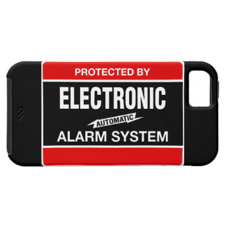Electronic Alarm System iPhone 5 Cover