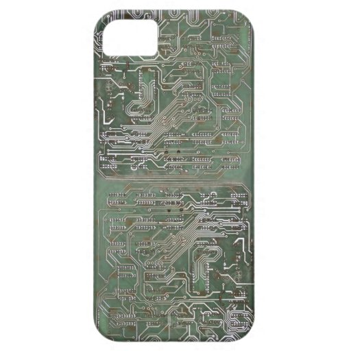 Electronic Circuit iPhone 5 Cases