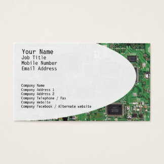 Electronic Circuits Business Card