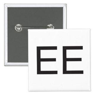 electronic emission ai pinback button