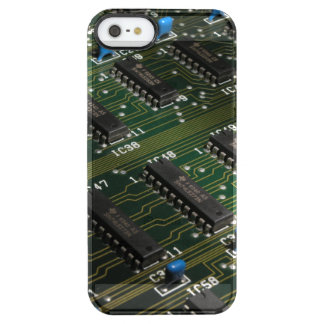 Electronic Geekery Clear iPhone SE/5/5s Case