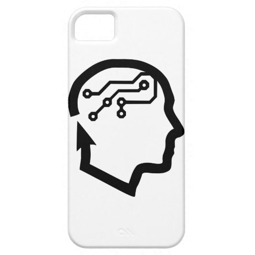Electronic head iPhone 5 cases