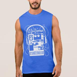 Electronic items sleeveless shirt