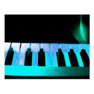 Electronic music 3 postcard