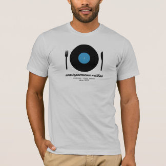 electronic music served - blue T-Shirt