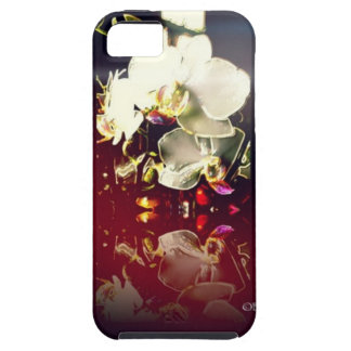 Electronic orchids tough iPhone 5 case