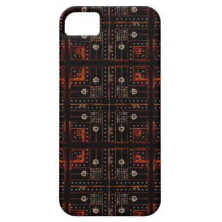 Electronic Pattern iPhone 5 Cases